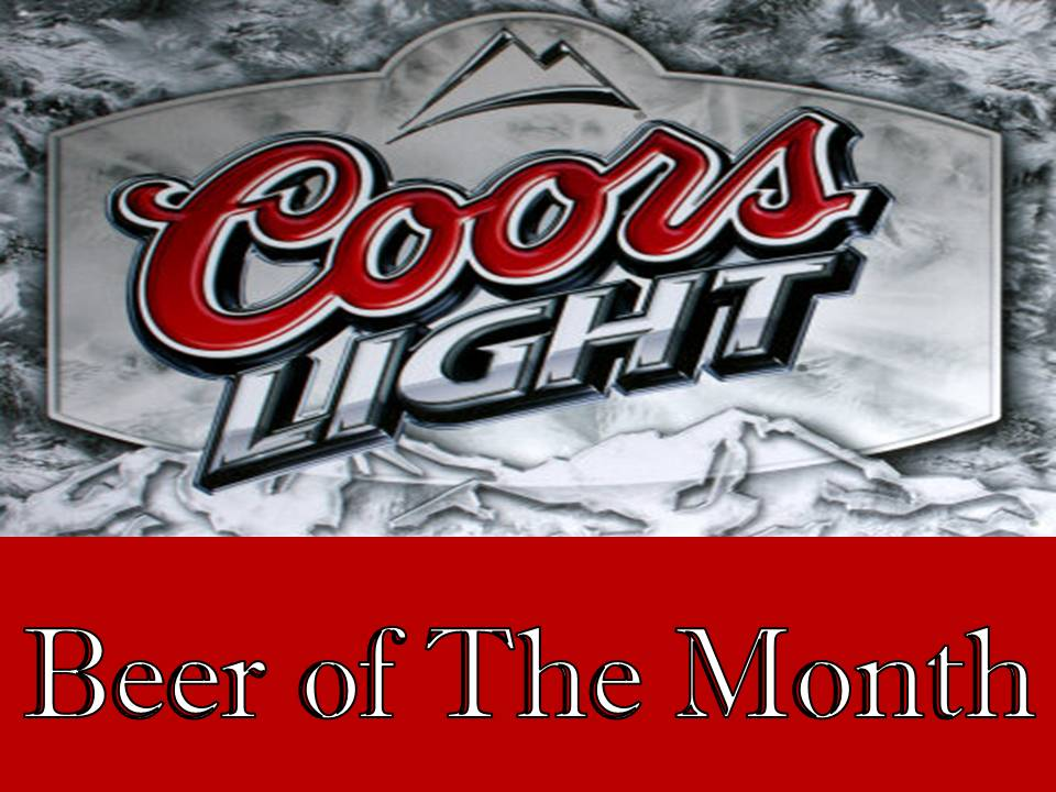 Coors Light Beer of the Month